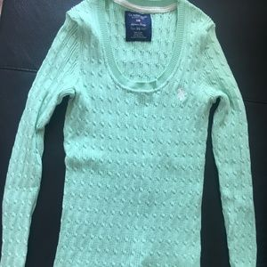 U S Polo Assn Women Cable Knit Pullover Sweater